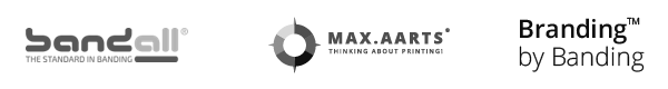 logos de Bandall, Max Aarts y Branding by Banding