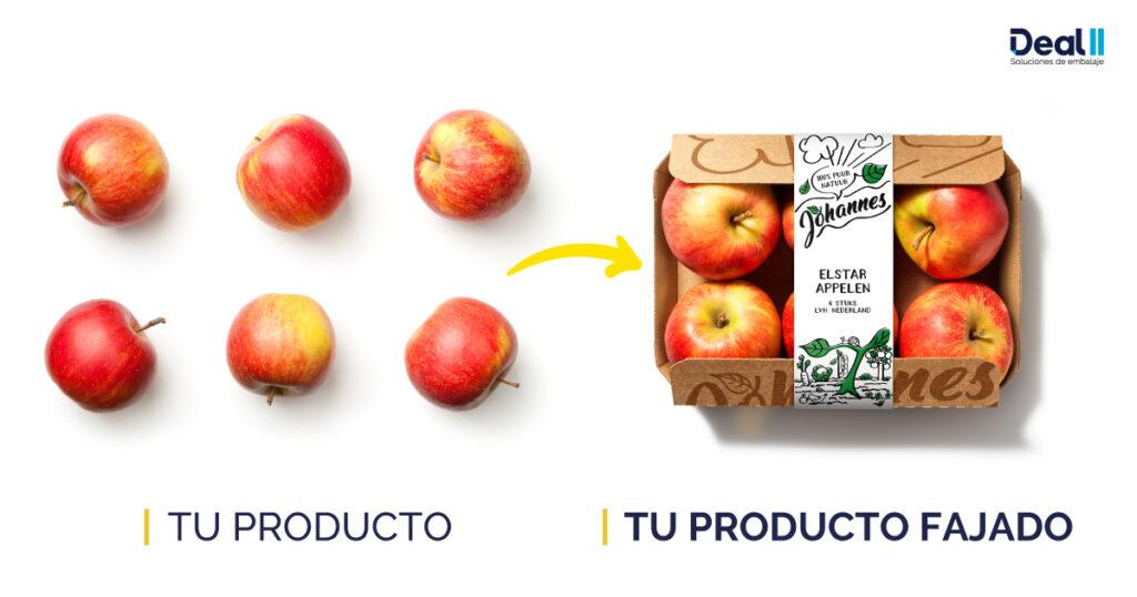 manzanas fajadas