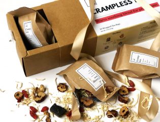 faja personalizada en packaging